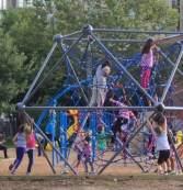 Kids Playing - Especially Girls Climbing