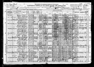 1920 NY Census - Perlman family